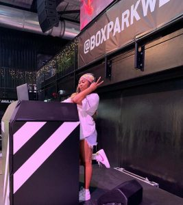 Shayna Marie at Boxpark Wembley in November Westside Talent